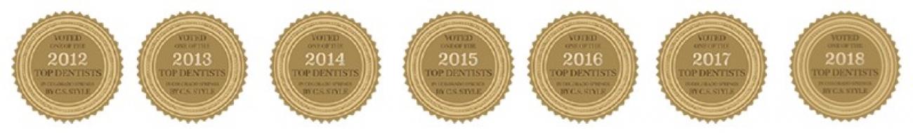 dentist colorado springs awards